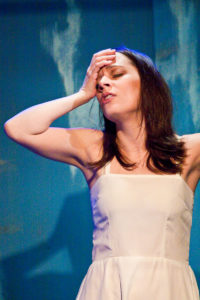 "Emily Gunyou-Halaas in a scene from ""Passage of Dreams,"" performed in March 2009 at Theatre Latte Da in Minneapolis."