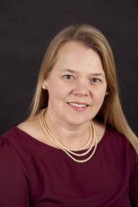 Luther College assistant professor of social work, Britt Rhodes